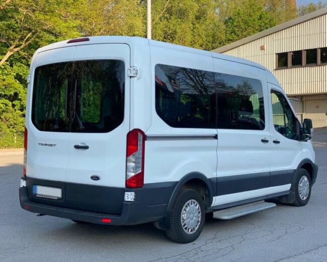 Ford transit mikrobus pronajem